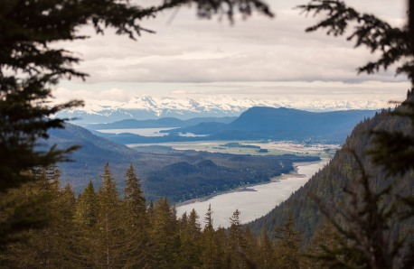 From the top of Mt Roberts in Juneau