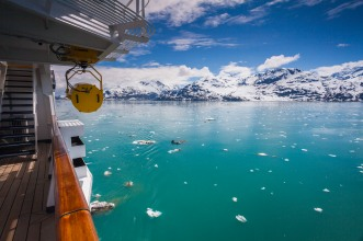 View into Glacier Bay