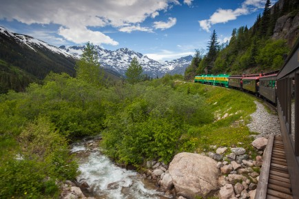 Riding the White Pass Rail