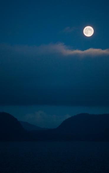 Nighttime in Alaska