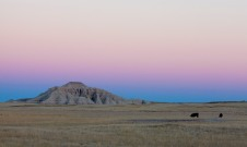 On the road to the badlands