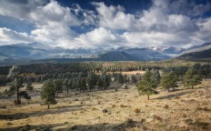 Entrance to Rocky Mountain National Park