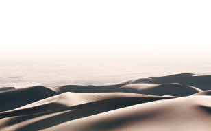 Dunes and the plateau beyond
