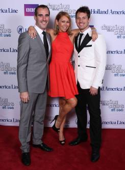 With Kym Johnson & Tristan Mac Manus - Dancing with the Stars at Sea