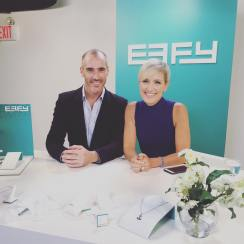 Shooting a jewelry show for Effy jewelry in NYC