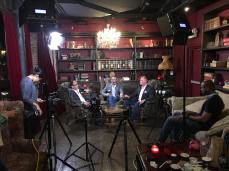 Shooting a luxury watch promo at a drinking den in Ft Lauderdale