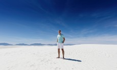 Me at White Sands National Monument