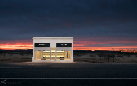 Stories and Light - Prada Marfa